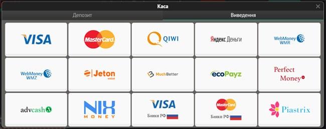 Casino Pin Up Ukraine пополнение депозита