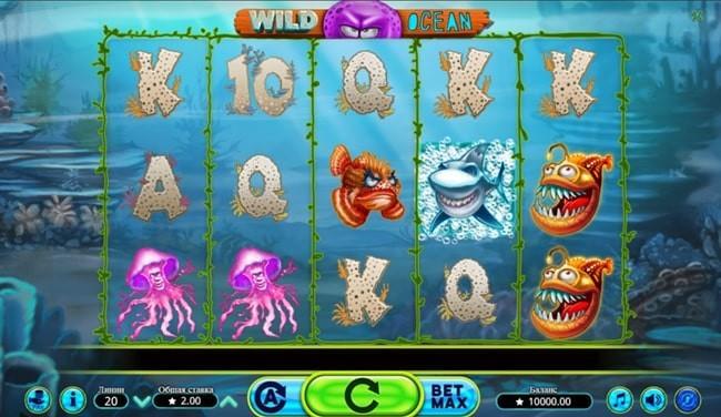 Wild ocean игровой автомат, играть бесплатно в казино Пин Ап